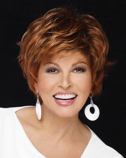 Free Spirit - Monofilament Short Shag by Raquel Welch Wigs