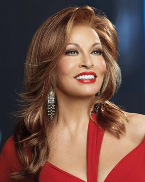 Glitterati Long Lace Front Monofilament Top by Raquel Welch Wigs