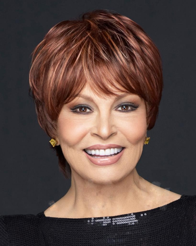 Intimate, Large - Short Tousled Boy Cut by Raquel Welch Wigs