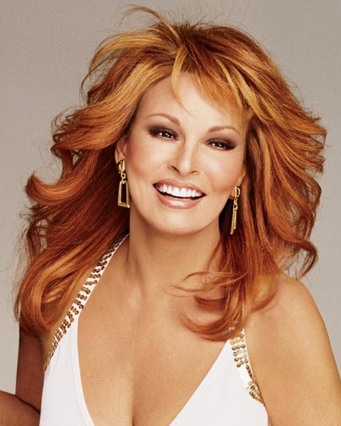 Knockout Wig Human Hair Mono Top Memory Cap by Raquel Welch Wigs