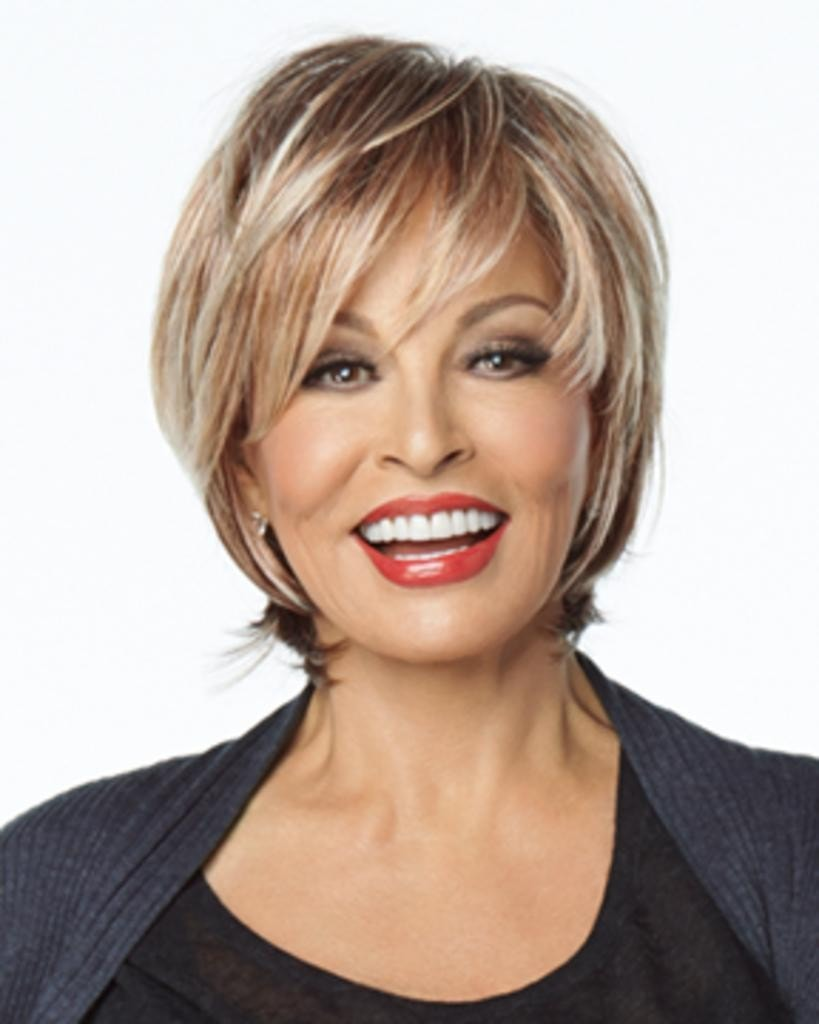 On The Town - Short Textured Lace Front Mono Top by Raquel Welch Wigs
