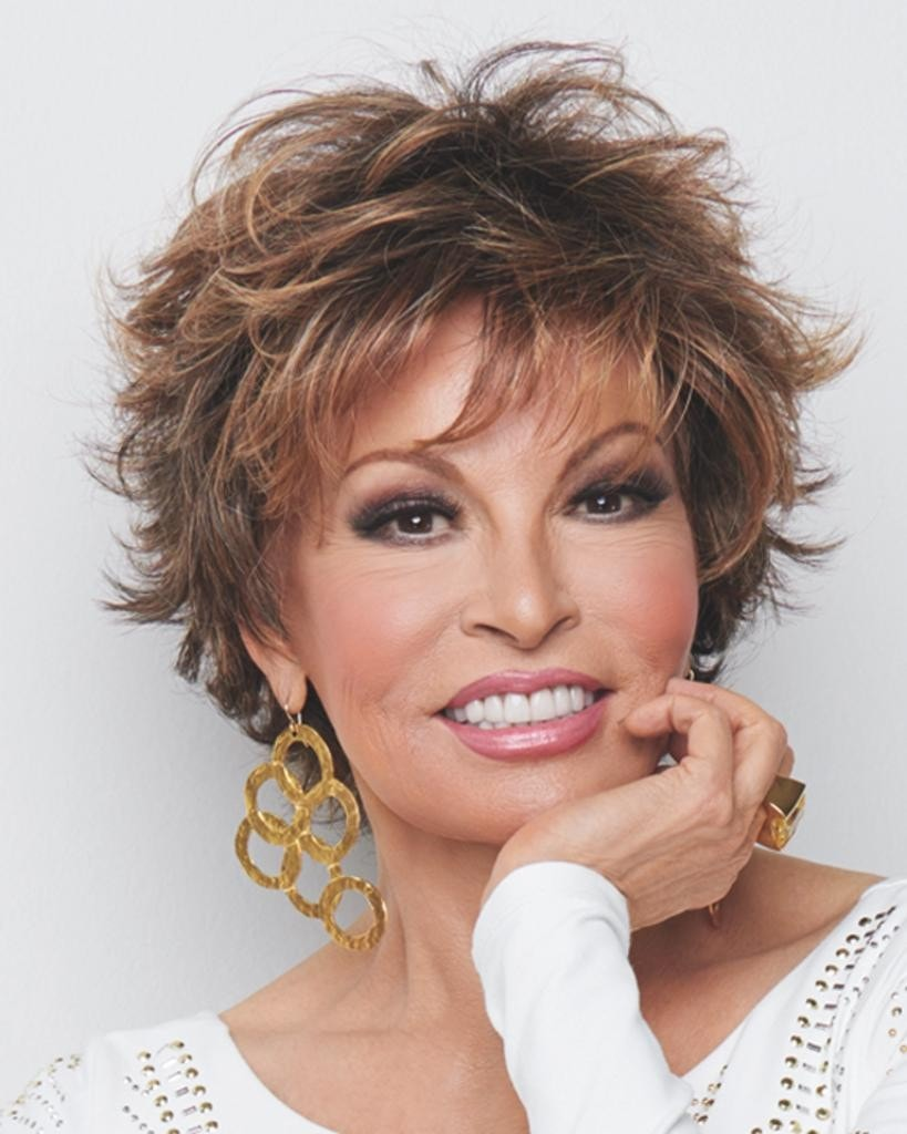 Voltage Large - Wispy Bang Short Tousled by Raquel Welch Wigs