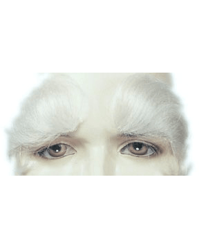 Lacey Costume Santa Eyebrows Better Version CLEARANCE - MaxWigs