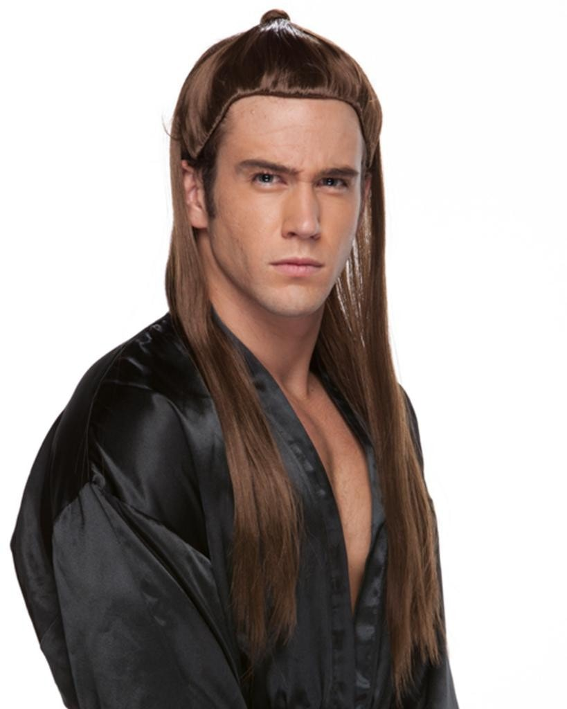 Ponytail Warrior by Sepia Costume Wigs