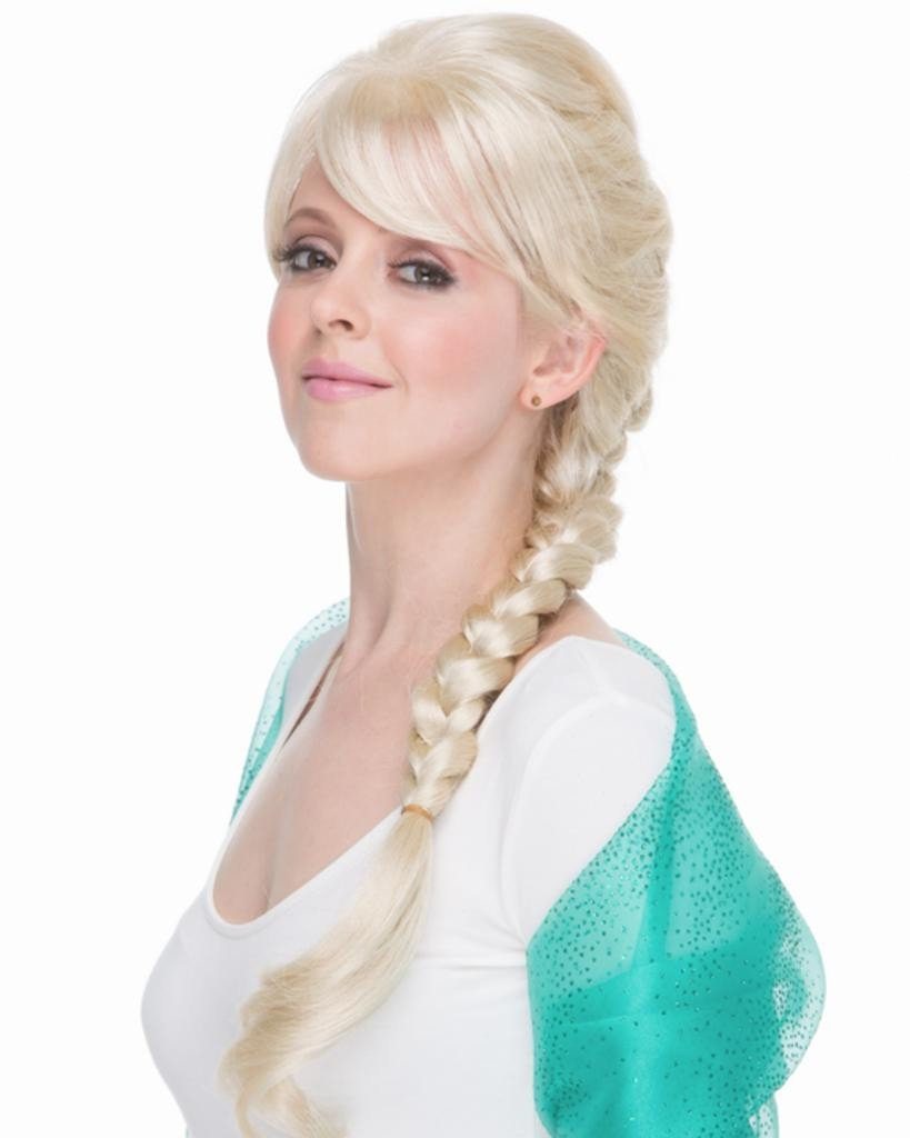 Elsa Frozen Ice Queen by Sepia Costume Wigs