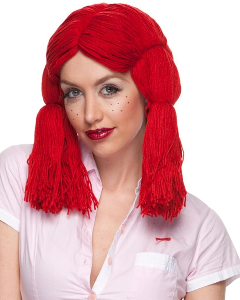 Raggedy Ann by Sepia Costume Wigs