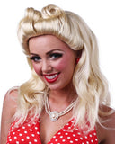 40's Pinup Girl by Sepia Costume Wigs
