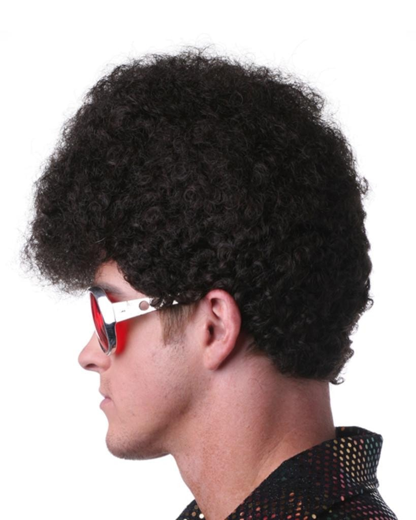 Elfro Elvis Afro Pompadour by Sepia Costume Wigs