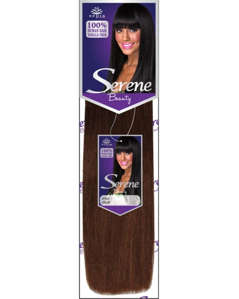 "Serene Ultimate Silky 16"" Weaving by Sepia Hair Extensions"