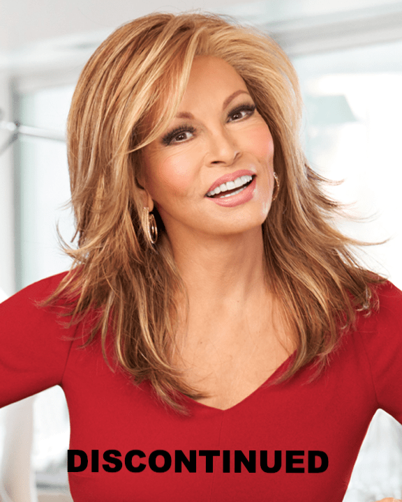 Raquel Welch Statement Piece - Monofilament Lace Front Long Wavy - MaxWigs