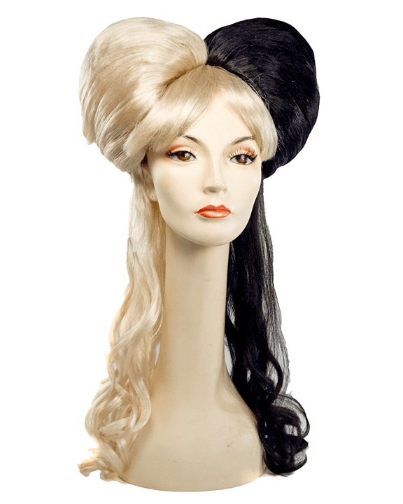 Lacey Costume Two Tone Girl - MaxWigs