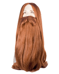 Lacey Costume Bargain Viking Long Norse Beard and Wig Set - MaxWigs