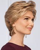 Eva Gabor Vantage Point - Short Layered Shag Lace Front - MaxWigs