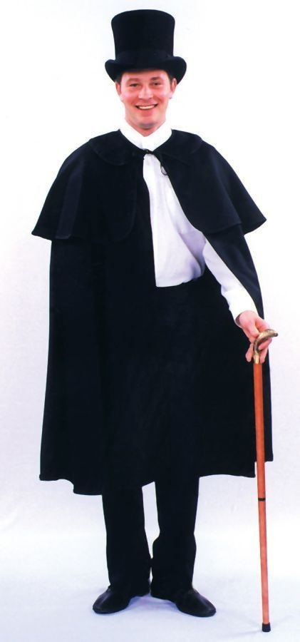 Morris Dickens Cape Black - MaxWigs