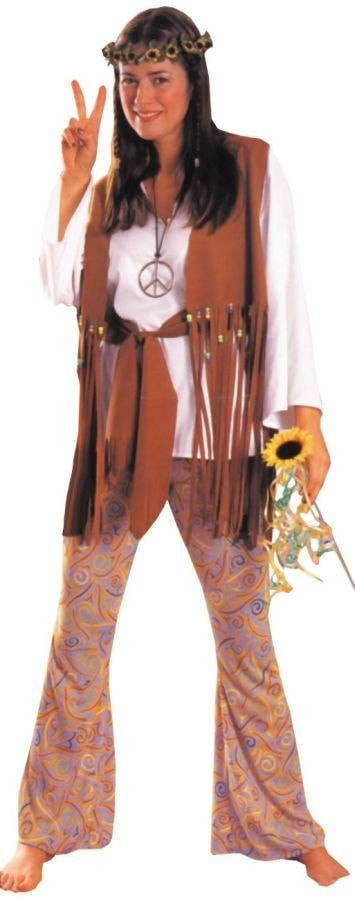 Morris Hippie Love Child Adult - MaxWigs