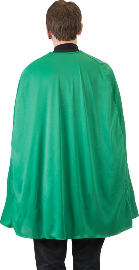 Morris Green Superhero Cape Adult 36i - MaxWigs