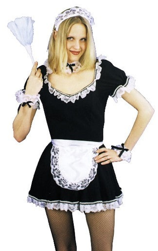 Morris French Maid Set - MaxWigs
