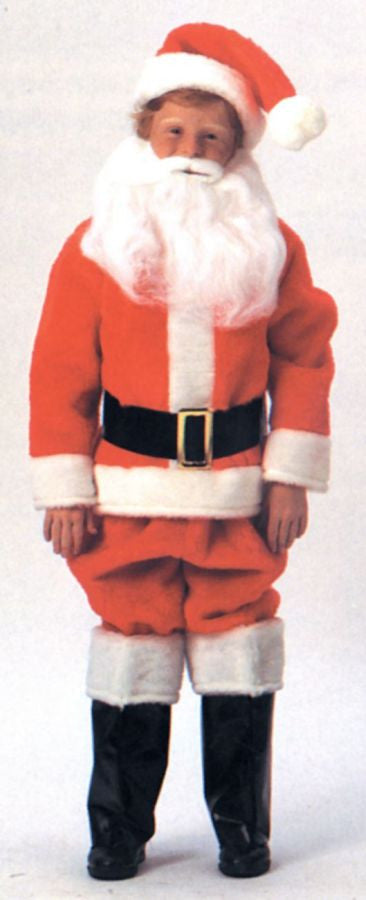 Santa Suit Child Sz 6-8