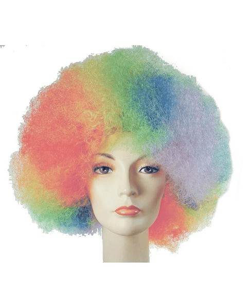 Lacey Costume Afro Deluxe Version Clown - MaxWigs