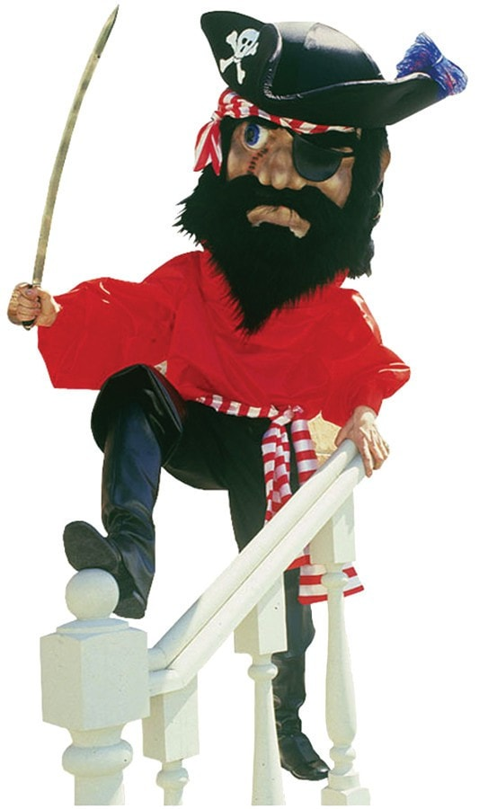 Morris Pirate Costume W Spats Complet - MaxWigs