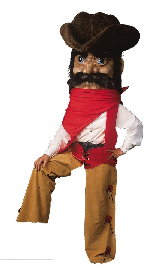 Morris Cowboy Costume  As Pictured - MaxWigs