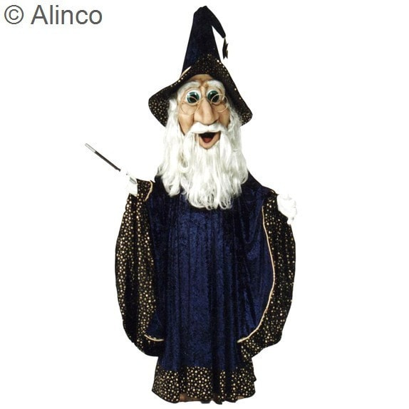 Morris Wizard  As Pictured - MaxWigs