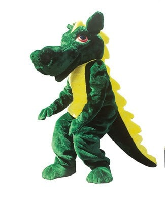 Morris Dragon Mascot  As Pictured - MaxWigs