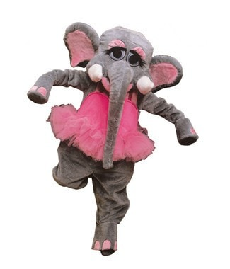 Morris Elephant  As Pictured - MaxWigs