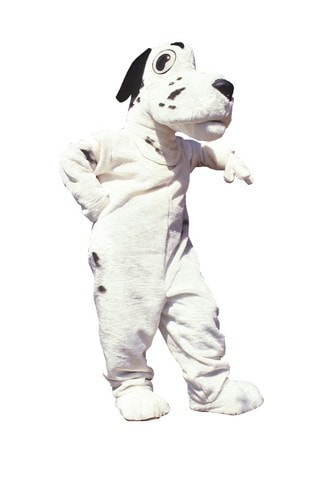 Morris Dalmation Mascot  As Pictured - MaxWigs