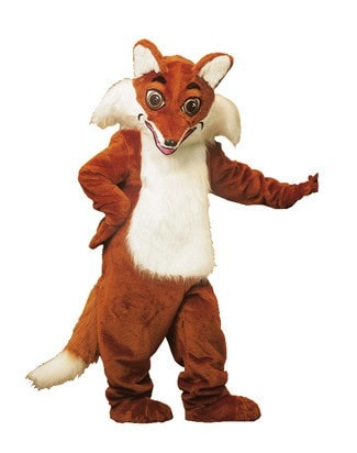 Morris Fox Mascot  As Pictured - MaxWigs