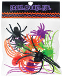 Morris Spiders Plastic Asst Size 12pc - MaxWigs