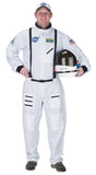 Morris Astronaut Suit Adult White Lg - MaxWigs