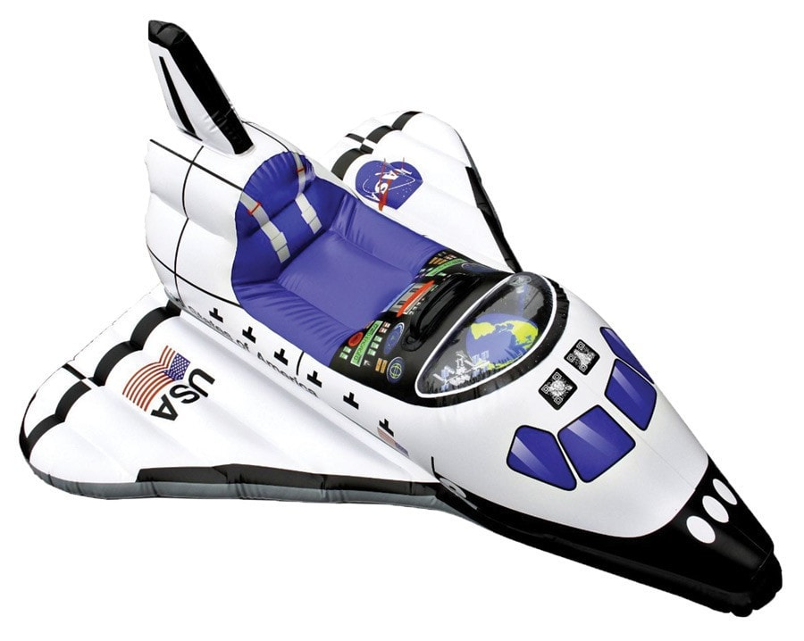Morris Space Shuttle Inflate Age 3 Up - MaxWigs