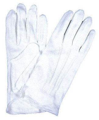 Morris Gloves White - MaxWigs