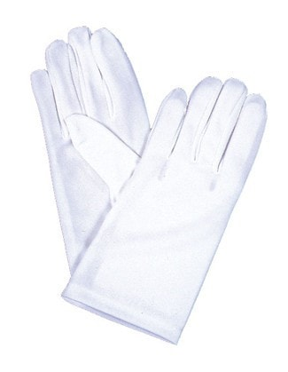 Morris Gloves Chld Nylon Lg Sz 7-12 - MaxWigs
