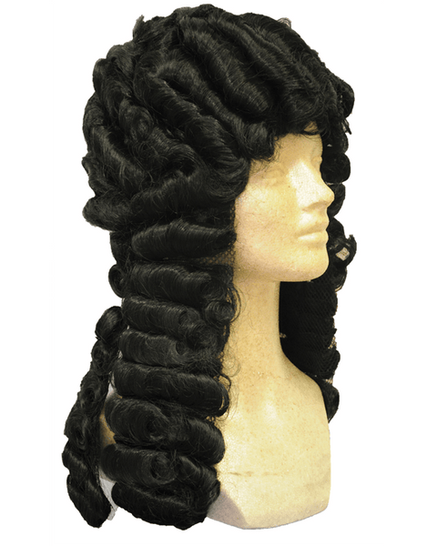 Lacey Costume Bargain Version Judge Colonial Parliament Wig AT143 - MaxWigs