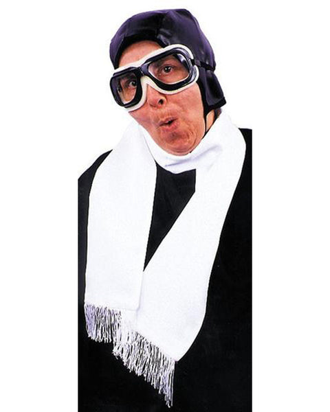 Scarf Aviator White