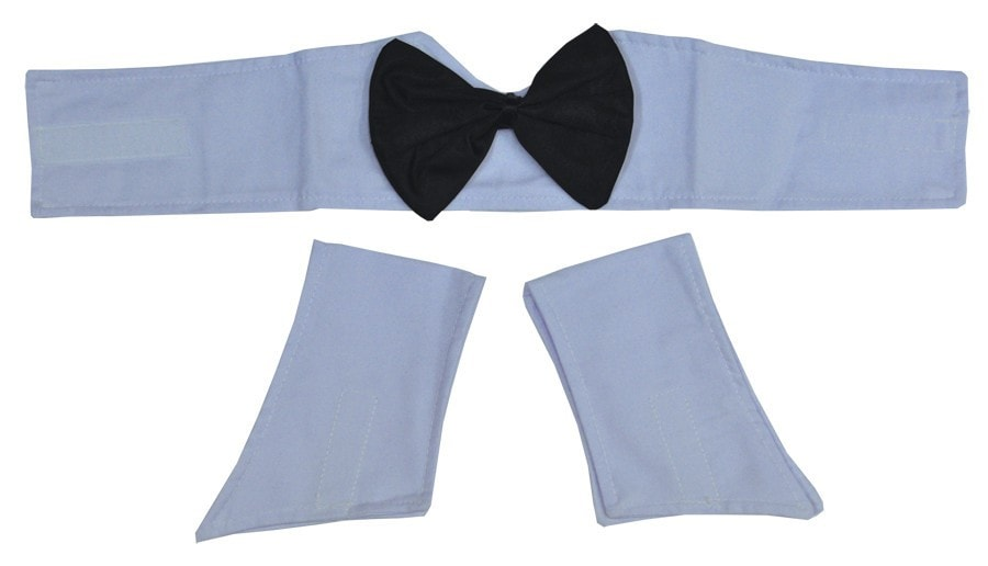 Morris Collar And Cuffs Set - MaxWigs