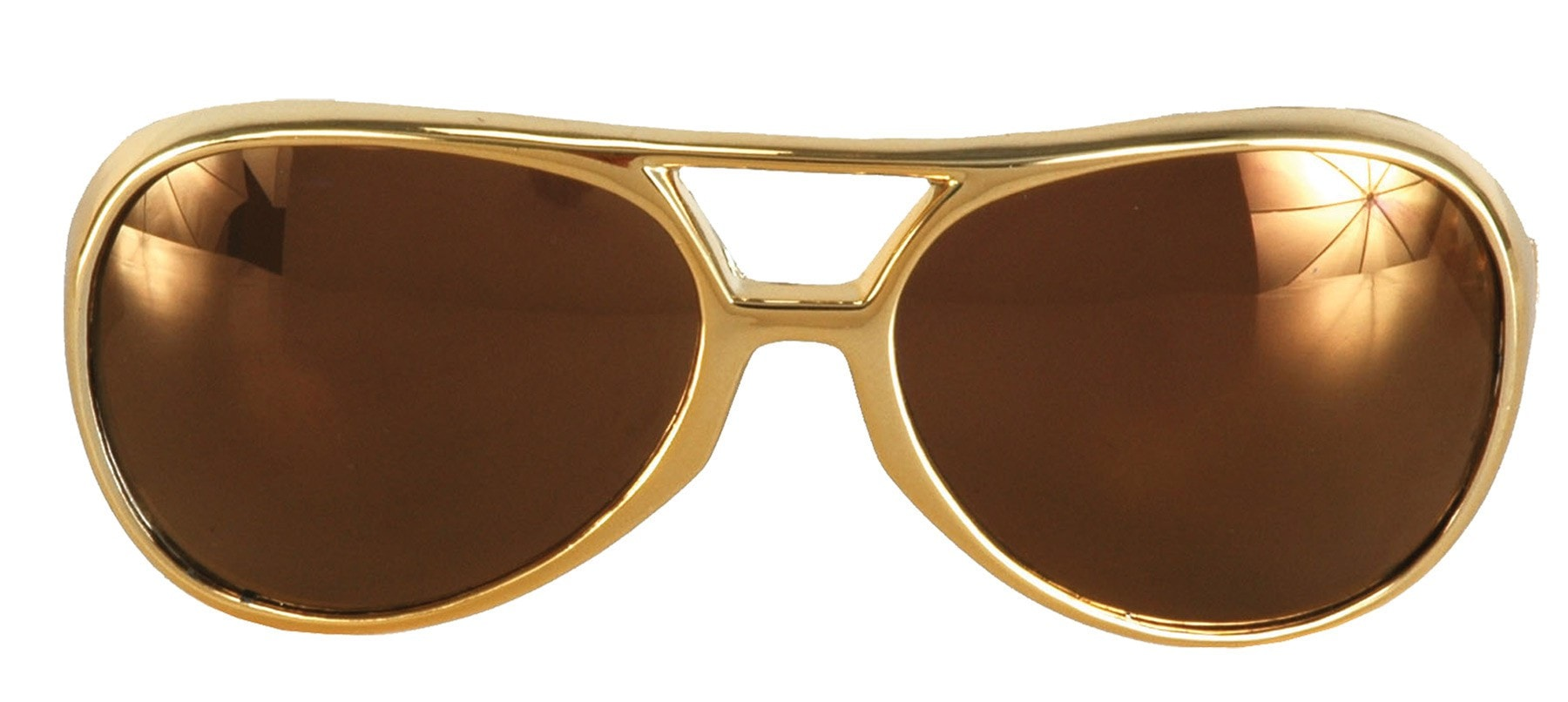 Morris Glasses Rock Roller Gold Gold - MaxWigs