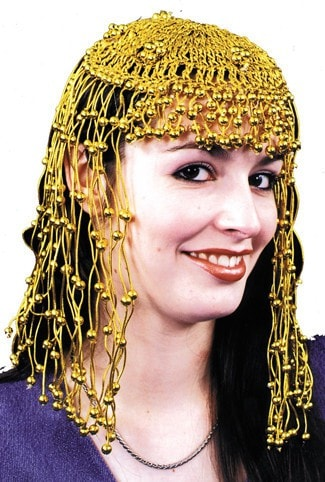 Morris Headpiece Egyptian Gold Gold - MaxWigs