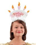 Morris Birthday Girl Headband - MaxWigs
