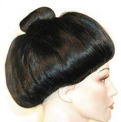 Lacey Costume Better Version Japanese Geisha Girl Wig - MaxWigs
