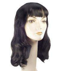 Lacey Costume Deluxe 40's Bettie Page - MaxWigs