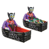 Morris Inflate Vampire Coffin Cooler - MaxWigs