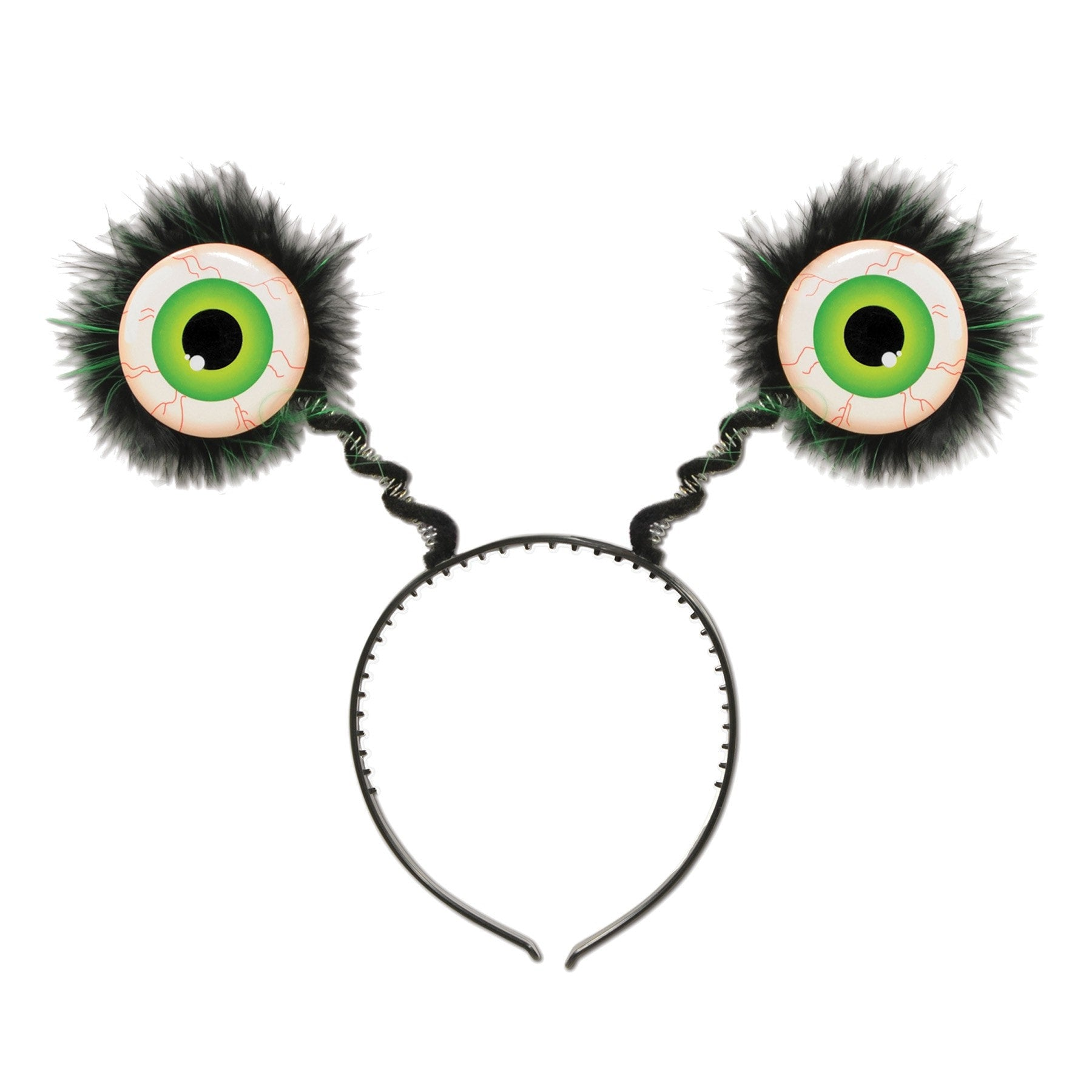 Morris Eyeball Boppers Green - MaxWigs