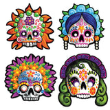 Morris Day Of The Dead Masks - MaxWigs