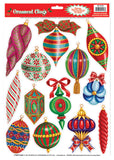 Morris Christmas Ornament Clings - MaxWigs