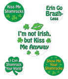 Morris St Patricks Funny Party Button - MaxWigs
