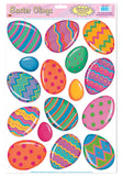 Morris Color Bright Egg Clings - MaxWigs