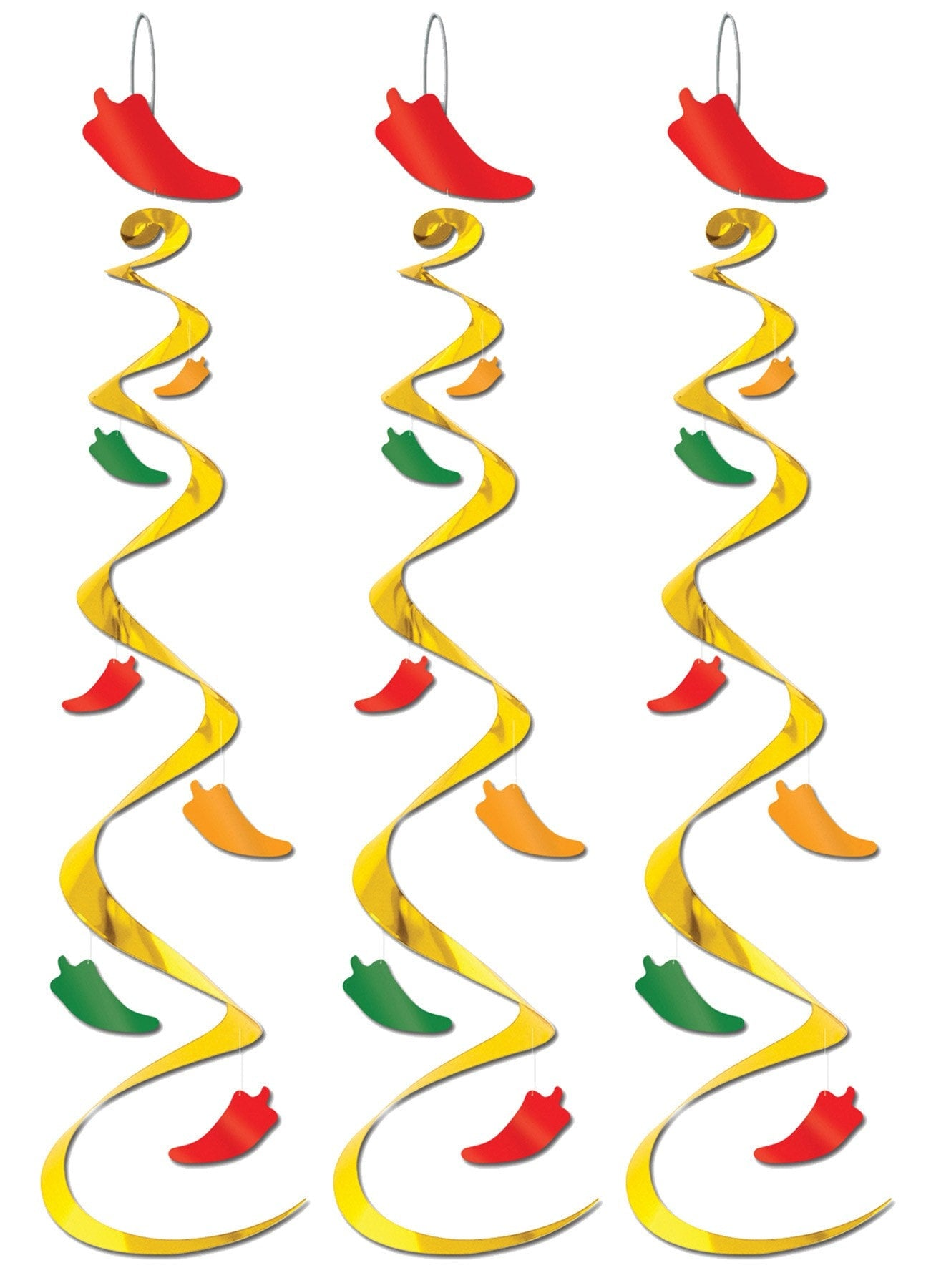 Morris Chili Pepper Whirls - MaxWigs